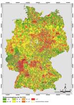Anteil der Bodenversiegelung pro Siedlungs- und Verkehrsfläche