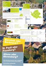 Information privater Haushalte mit dem WoMo-Rechner (Copyright: HCU Hamburg, Foto: Aufwind Luftbilder, Holger Weitzel)